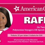 American Girl Doll Raffle at The Mariner's Museum