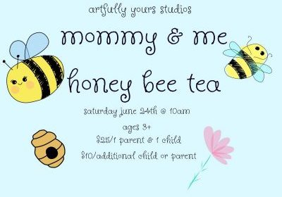honey bee tea artfully yours