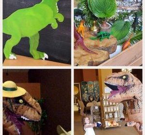 Williamsburg Pop-Up at Artfully Yours: Paint Your Own Tea-Rex!