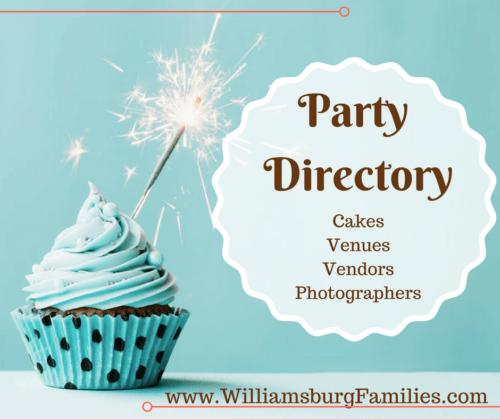 kids birthday parties williamsburg