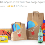 Groupon Alert -$15 for $40 to Spend on First Order from Google Express – learn more: