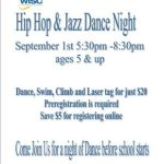 ip Hop and Jazz Dance Night Fundraiser!'