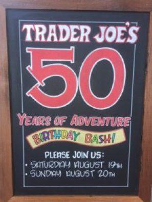 Trader Joe's 50th Birthday