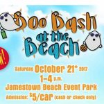 Boo Bash at Jamestown Beach with Trick or Treating, Pumpkin Carving and more – Oct. 21