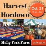 Harvest Hoedown at Holly Fork Farm Oct 21st 1 am to 4 pm