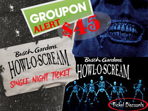 Groupon Alert Busch Gardens Bier Fest Howl O Scream 50 Off Single Day Tickets