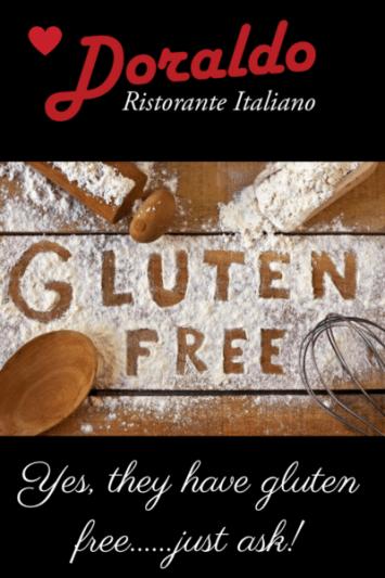 gluten free at doraldo williamsburg restaurant