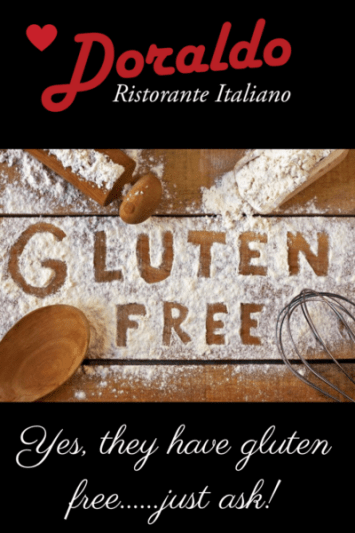 gluten free at doraldo williamsburg restaurant