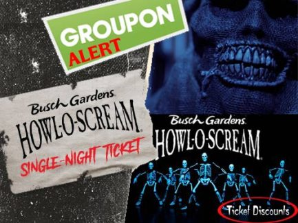 Groupon Alert   Busch Gardens Bier Fest U0026 Howl O Scream   50% Off Single  Day Tickets*!
