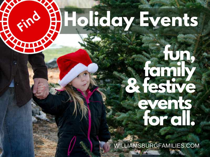 Holiday and Christmas Events in Williamsburg and Yorktown