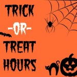 York County Trick or Treat Hours 2018