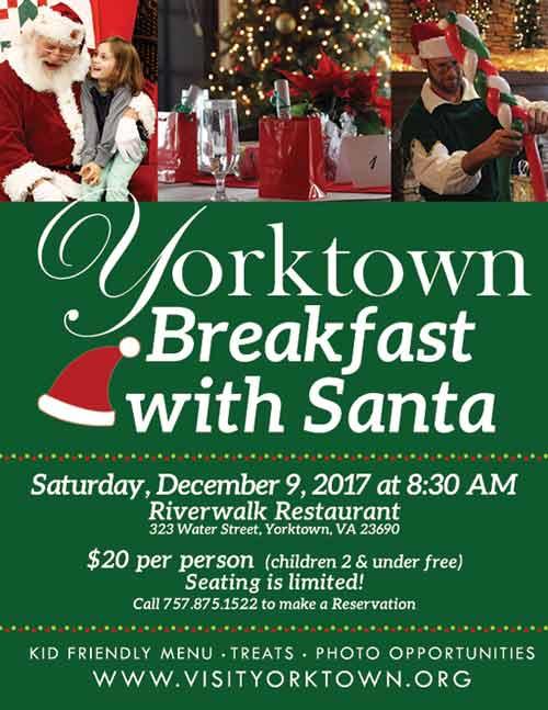 breakfast with santa yorktown