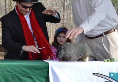 Groundhog Day Ceremony