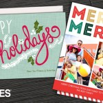 Get your holiday cards $8 for 25, $14 for 50, or $25 for 100 cards - HUGE discount it's a Groupon for Staples!
