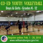 youth volleyball williamsburg