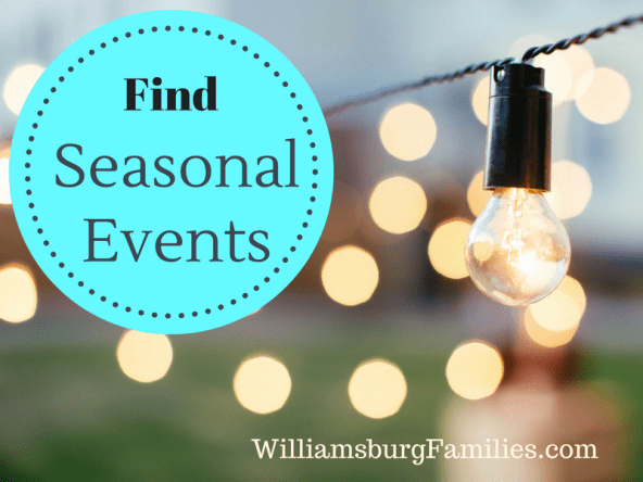 Check Out Local Seasonal Events In Williamsburg Going On And Around The Virginia Area These Include Theatre Childrens