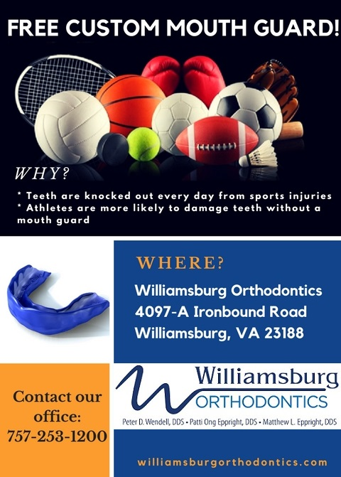 Free Custom Mouth Guards
