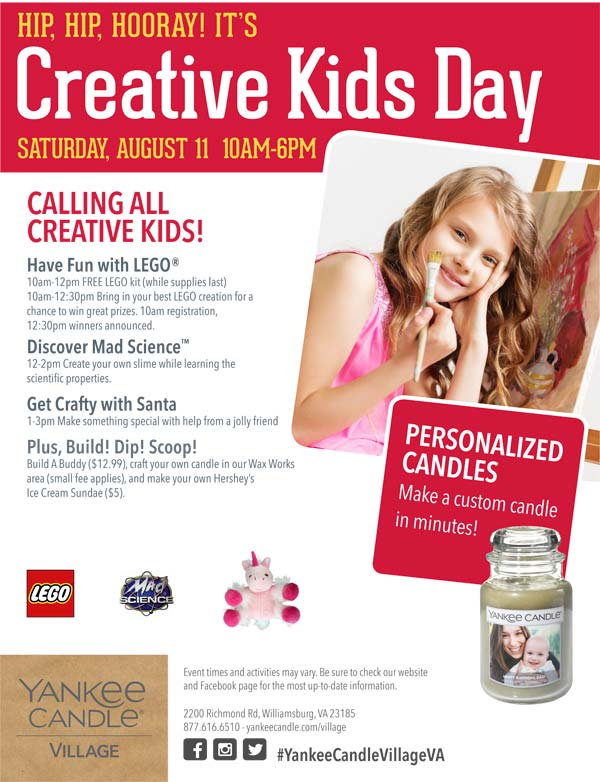 Yankee Creative Kids Day
