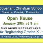 covenant-christian-school-open-house