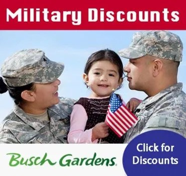 Free Single Day Admission Waves Of Honor Busch Gardens Military Pass