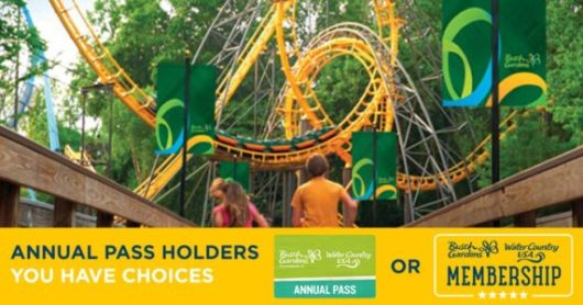 New Membership Programs for Busch Gardens & Water County USA