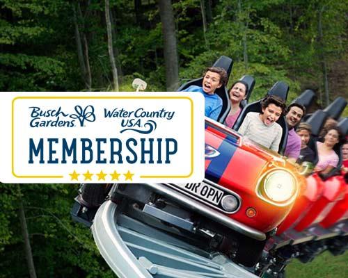 Busch Gardens Membership Tickets