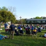 Easter Sunrise Service held on Historic Jamestown Island