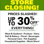 Store Closing Sale STARTS TODAY! Everything Must Go - see store locations: