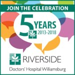 A Look at Riverside's Life Long Health Opportunities in the Williamsburg Region - May 8th from 9:30 am - 11 a.m.