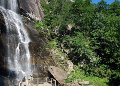 hickory nut falls lake lure