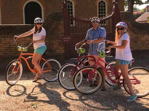 bike rentals williamsburg