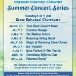 Celebrate Yorktown Committee Summer Concert Series 2019 - Here is the line up: