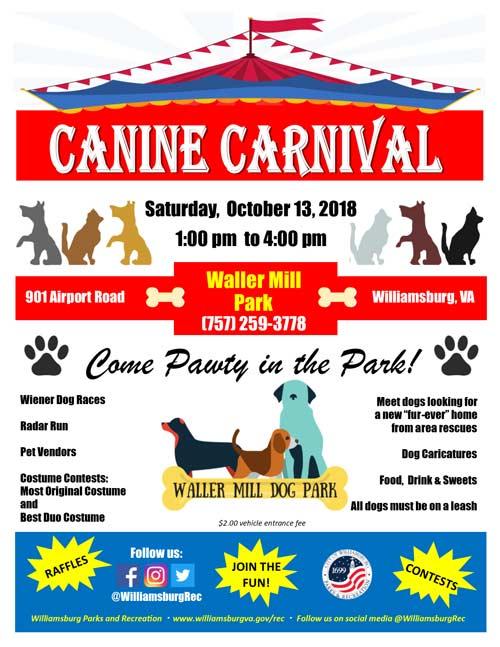 Canine-Carnival-Flyer-2018-Williamsburg