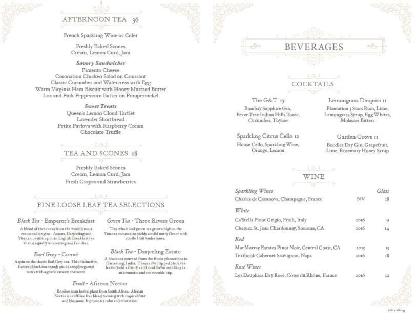 Afternoon-Tea-Williamsburg-Inn-Menu
