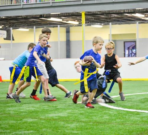 flag-football at wisc williamsburg