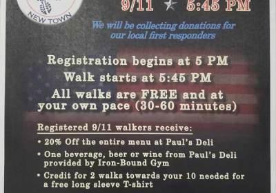 911 walk new town