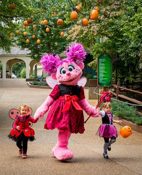 spooktacular busch gardens kids