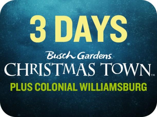 busch gardens colonial williamsburg tickets