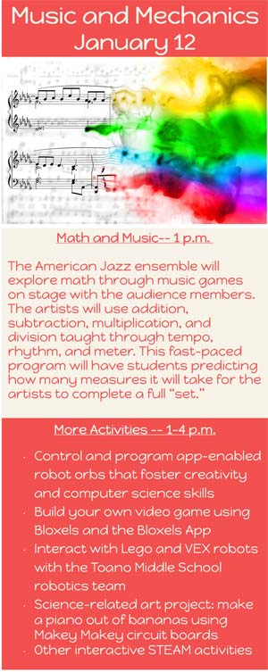 Steam Saturdays At Wrl Math And Music Williamsburg Families
