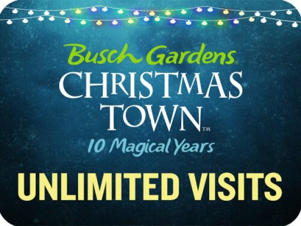 christmas town fun card