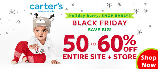 Carters Black Friday Cyber Monday Deals Shop Early