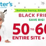Carters Black Friday & Cyber Monday Deals - Shop Early!
