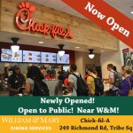 Chick-fil-A is Now Open on Richmond Road near W&M - Stop by!