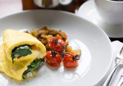 colonial williamsburg breakfast