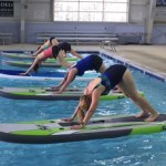 Try Paddle Yoga, Paddle Fit & Aquatic Aerobics Classes at the WISC - no swimming ability required.