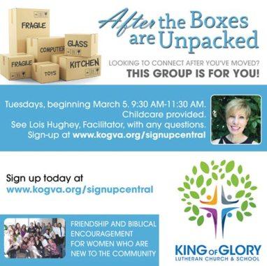 unpack the boxes williamsburg kog
