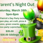 Parents Night Out at We Rock the Spectrum! Sat., March 16th - Learn More:
