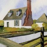 colonial cottage paint and sip