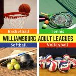 WilliamsburgRec Adult Leagues: Adult 3 on 3 League, Sand Volleyball, Women's Indoor Quad, and Tennis - Registering Now