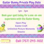 Easter Bunny Private Play Date at We Rock the Spectrum! Learn more...